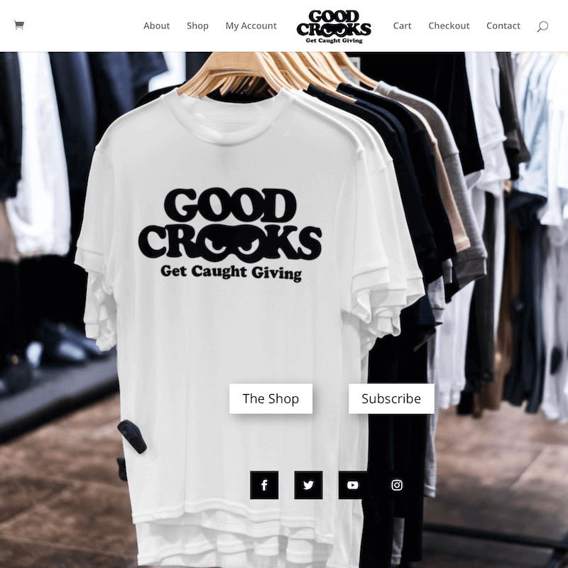Good Crooks HomePage slider