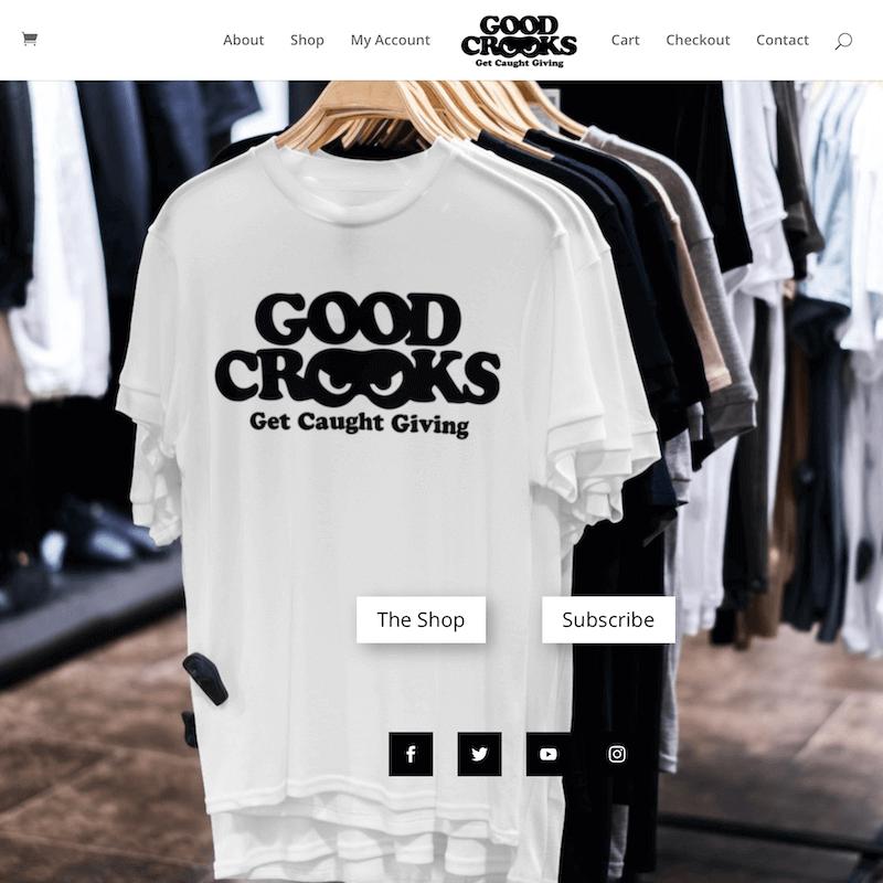 Good Crooks HomePage slider